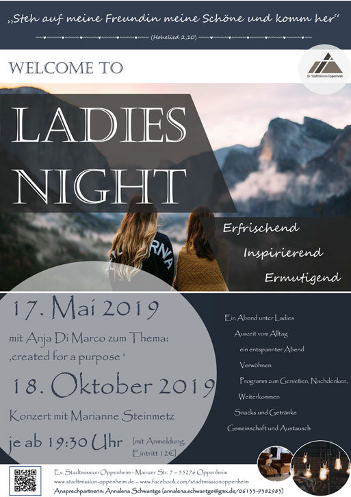 Ladies Night 2019 ::: Ev. Stadtmission Oppenheim